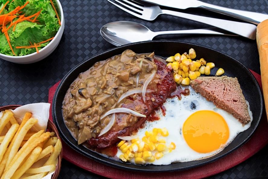 Beefsteak ở Mỹ