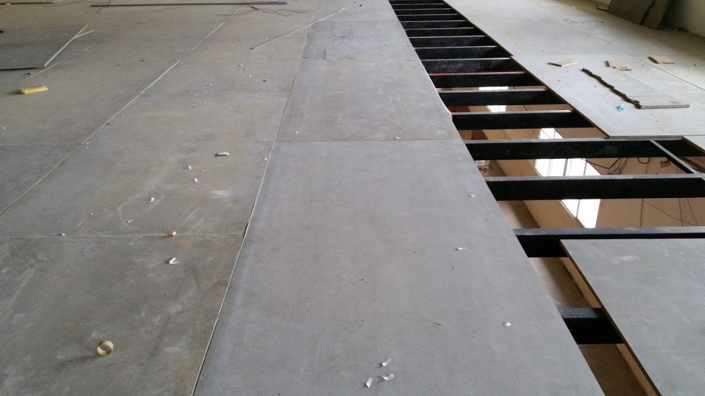 Tấm xi măng sợi lót sàn