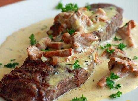 Sốt steak nấm