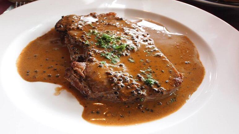 Sốt steak tiêu đen
